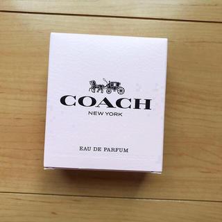 コーチ(COACH)の送料込み♡COACH♡コーチ オードパルファム 新品未使用(香水(女性用))