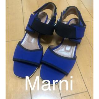 マルニ(Marni)のMARNI サンダル 36サイズ(サンダル)