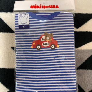 ミキハウス(mikihouse)のドライブプッチー 半袖ボディシャツ(下着)
