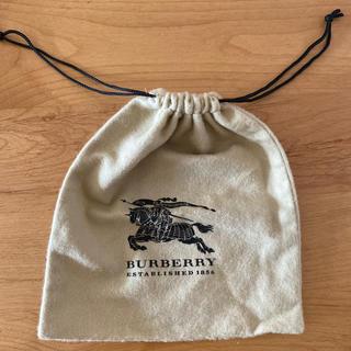 バーバリー(BURBERRY)のBURBERRY アクセサリー巾着袋(ショップ袋)