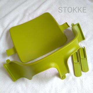 ストッケ(Stokke)のSTOKKE ストッケ トリップトラップ チェア ベビーセット グリーン(その他)