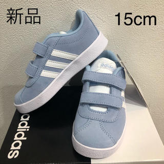 adidas - 新品 アディダス adidas スニーカー 15cm キッズ VL COURT