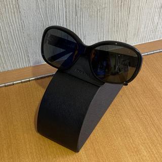 PRADA - プラダ サングラス プレート 三角ロゴ 黒系 SPR10M-A