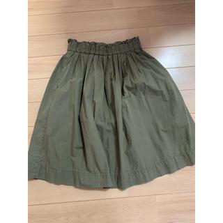 ムジルシリョウヒン(MUJI (無印良品))の無印良品 フレアスカート(ひざ丈スカート)