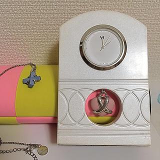ウェッジウッド(WEDGWOOD)のウエッジウッド 置き時計 ネックレス(置時計)