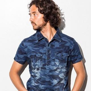 1piu1uguale3 - 1PIU1UGUALE3RELAX 半袖シャツ ジョグデニムシャツ ポロシャツ