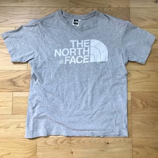 ザノースフェイス(THE NORTH FACE)のTHE NORTH FACE ロゴTシャツ(グレー)(Tシャツ(半袖/袖なし))
