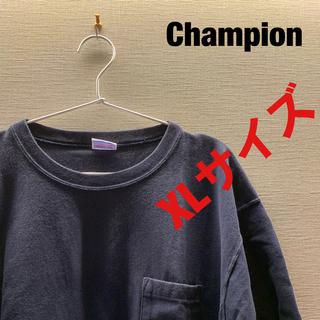 チャンピオン(Champion)のChampion  ビックTシャツ カラー:ネイビー(Tシャツ/カットソー(半袖/袖なし))
