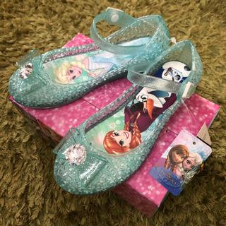 Disney - お値下げ【新品未使用】アナ雪 光るサンダル 19cm