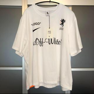 オフホワイト(OFF-WHITE)の確実正規品【NIKE×off-white Cropped Tee XLサイズ】(Tシャツ/カットソー(半袖/袖なし))