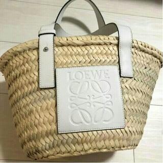 LOEWE - ロエベ Sサイズ カゴバッグ ホワイト Loewe