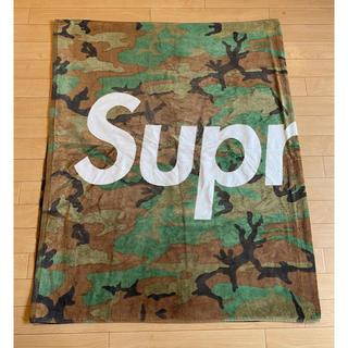 シュプリーム(Supreme)のsupreme  シュプリーム ビーチタオル 迷彩柄 Beach Towel(タオル/バス用品)