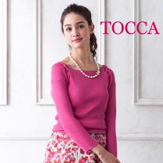 トッカ(TOCCA)のTOCCA✨シルクリブトップス ✨✧*。定価約2.4万(カットソー(長袖/七分))