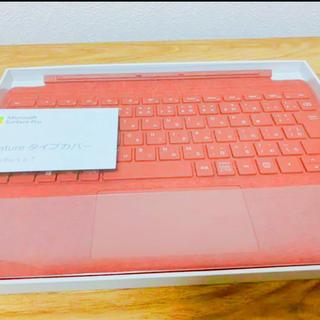 マイクロソフト(Microsoft)のほぼ未使用 アルカンターラ 【純正】 Surface Pro タイプカバー (PC周辺機器)