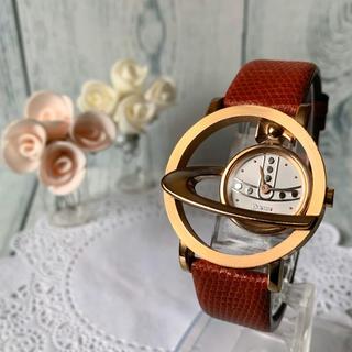 Vivienne Westwood - 【希少】ヴィヴィアン サークルオーブ ピンクゴールド 腕時計 VW-77A3
