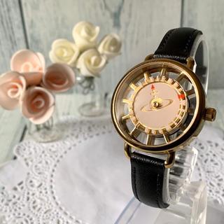 Vivienne Westwood - 【動作OK】vivienne ヴィヴィアン 腕時計 オーブ モチーフ ピンク