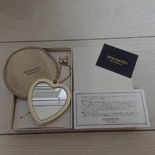 ミキモト(MIKIMOTO)の【新品未使用】MIKIMOTO ミキモトパール ハートミラー 手鏡 (ミラー)