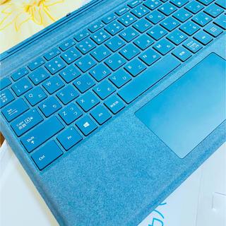 マイクロソフト(Microsoft)の美品 アルカンターラ 【純正】 Surface Pro タイプカバー (PC周辺機器)