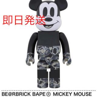 medicom  toy bape be@rbrick mickey 1000%(その他)