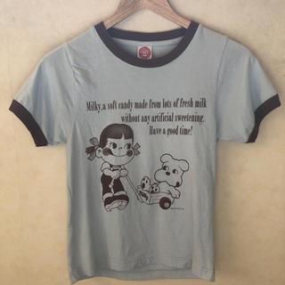 フジヤ(不二家)の不二家✨ペコちゃんtシャツ✨新品✨(Tシャツ(半袖/袖なし))