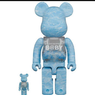 BE@RBRICK WATER CREST Ver.100%&400%(キャラクターグッズ)