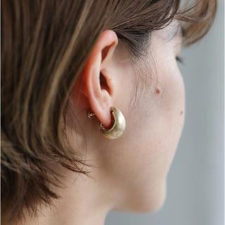 カスタネ(Kastane)のselect MOCA 2020 S/S SMALL PLUMP EARRING(イヤリング)