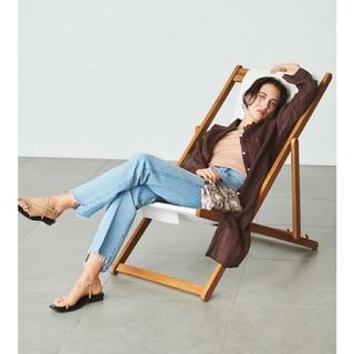 ミラオーウェン(Mila Owen)の期間限定価格 裾段差ストレートデニムパンツ(デニム/ジーンズ)
