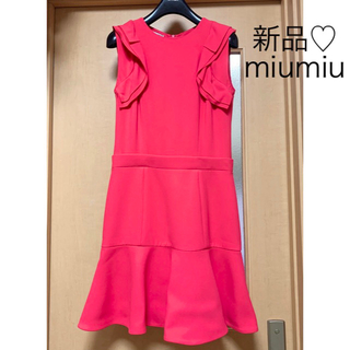 ミュウミュウ(miumiu)のM,D,R様ご専用(ひざ丈ワンピース)