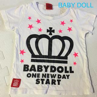 ベビードール(BABYDOLL)のキッズ Tシャツ(Tシャツ/カットソー)