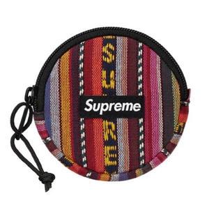 シュプリーム(Supreme)のsupreme woven stripe coin pouch (コインケース/小銭入れ)