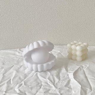 フランフラン(Francfranc)のimport shell light(シェルライト)(テーブルスタンド)