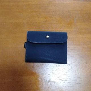 ムジルシリョウヒン(MUJI (無印良品))のミニウォレット ブラック 無印良品(財布)