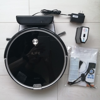 ILIFE A6 ロボット掃除機(ブラック)(掃除機)