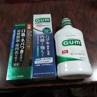 サンスター(SUNSTAR)のサンスター 歯周病予防セット(口臭防止/エチケット用品)
