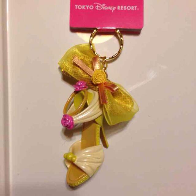 Disney(ディズニー)のプリンセスシューズ キーホルダー レディースのファッション小物(キーホルダー)の