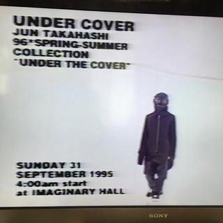 アンダーカバー(UNDERCOVER)の【 UNDERCOVER 96SS  VIDEO 】JONIO アンダーカバー(その他)