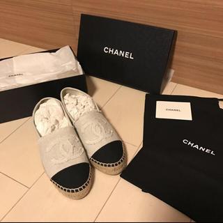 CHANEL - にょみ様専用 CHANEL エスパドリーユ 新品