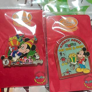ミッキーマウス - ミッキーピンバッチセット