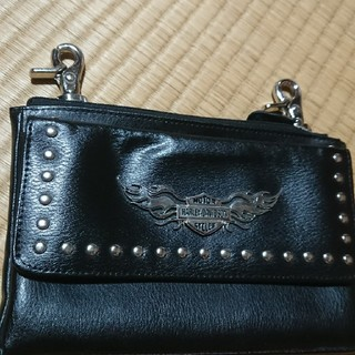 ハーレーダビッドソン(Harley Davidson)のハーレーダビッドソン腰掛け財布(長財布)