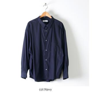 コモリ(COMOLI)のグラフペーパー Regular Collar Big Sleeve Shirt(シャツ)