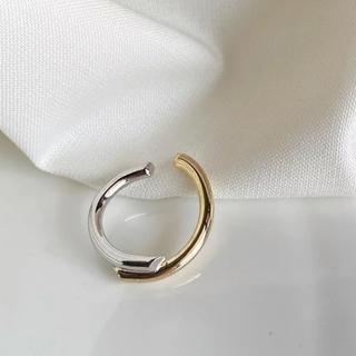 アダムエロぺ(Adam et Rope')のContrast double ring No.228(リング(指輪))