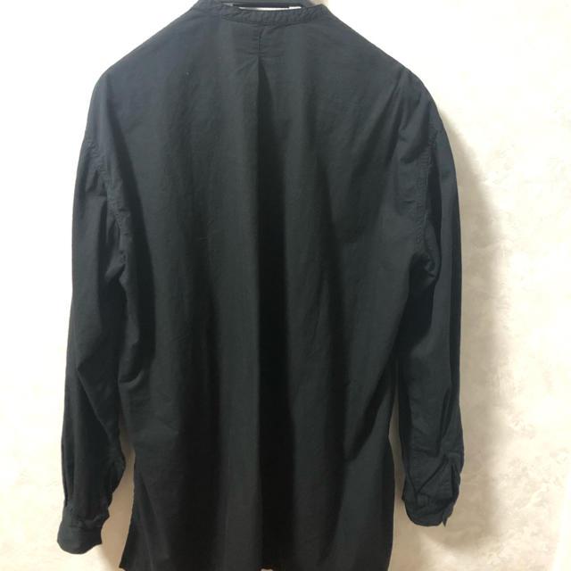【新品未使用】TOKIHO トキホ NULL-Ⅱ シャツ ノーカラー メンズのトップス(シャツ)の商品写真