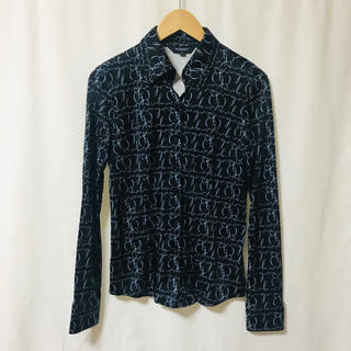 バーバリー(BURBERRY)のバーバリーロンドン 長袖シャツ シルク100%(シャツ/ブラウス(長袖/七分))