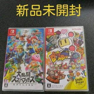 ニンテンドースイッチ(Nintendo Switch)の大乱闘スマッシュブラザーズ SPECIAL + スーパーボンバーマン R(家庭用ゲームソフト)