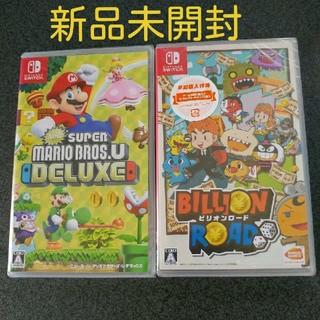 ニンテンドースイッチ(Nintendo Switch)のNew スーパーマリオブラザーズ U デラックス ビリオンロード 早期購入特典付(家庭用ゲームソフト)