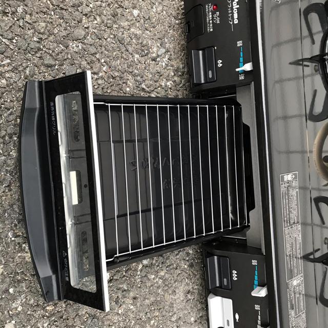 パロマ ガスコンロ 用 IC-800B-1R スマホ/家電/カメラの調理家電(ガスレンジ)の商品写真