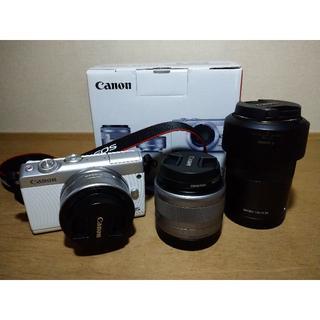 Canon - Canon EOS M100 ダブルレンズキット + EF-M 55-200