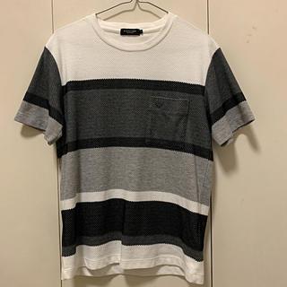 ブラックレーベルクレストブリッジ(BLACK LABEL CRESTBRIDGE)のブラックレーベルクレストブリッジ ボーダー メッシュ Tシャツ(Tシャツ/カットソー(半袖/袖なし))