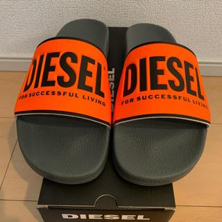 ディーゼル(DIESEL)の42 diesel sandal ディーゼル シャワー スライド サンダル 新品(サンダル)