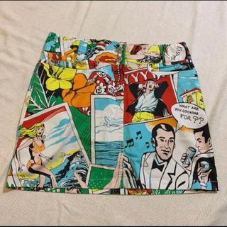 ドルチェアンドガッバーナ(DOLCE&GABBANA)の(DOLCE&GABBANA)ドルガバ スカート サイズ40(ミニスカート)